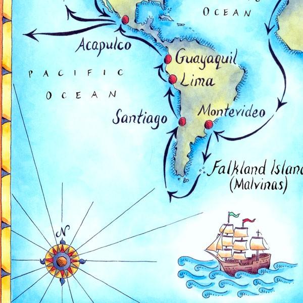 Malvinas Map