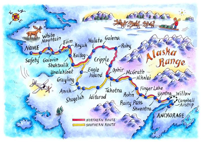 map_Iditarod