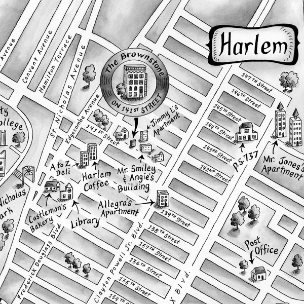 Map ~ The Vanderbeekers of 141st Street