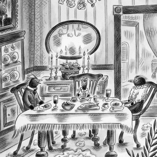 FREYA & ZOOSE ~ Dining Room