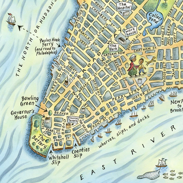 MANHATTAN: MAPPING THE STORY OF AN ISLAND ~ New York, New York U.S.A.